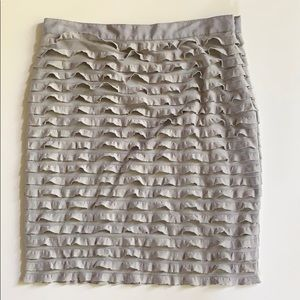 Banana Republic Ruffle Skirt